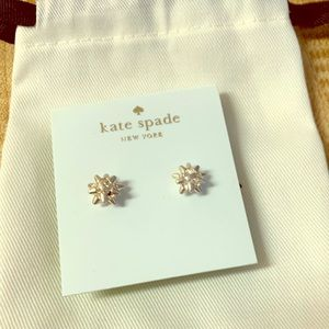 NWOT Kate Spade New York Gift Bow 🎀 Stud Earrings